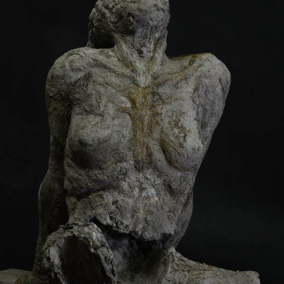 lorea patrick sculpture in concrete and steel 2017
